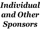 Individual and Other Sponsors